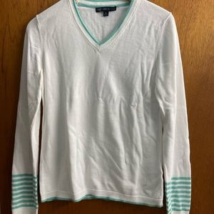 Like New Brooks Brothers 100% Cotton Sweater